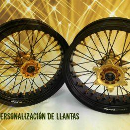 LLANTA COMPLETA SM KTM 3.50X16