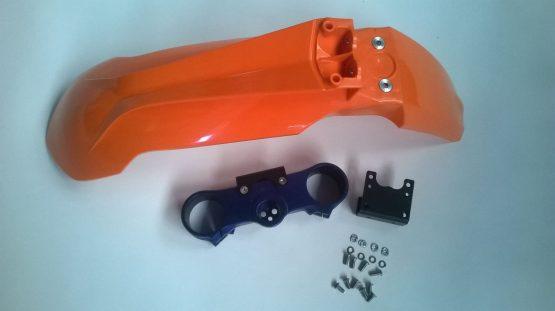 Adaptador para guardabarros delantero KTM