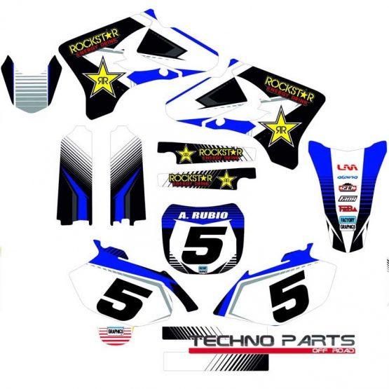 Kit adhesivos moto YAMAHA YZF 1