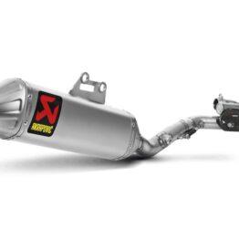 ESCAPE COMPLETO AKRAPOVIC RACING Suzuki RM-Z450 '08-'16