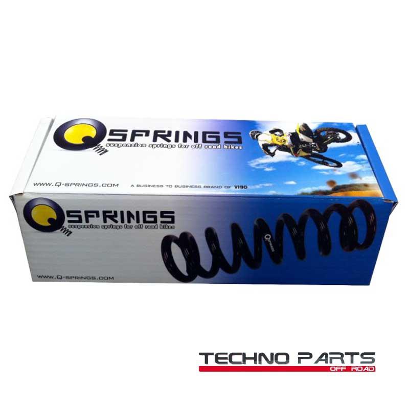 Muelle amortiguador trasero Q-springs