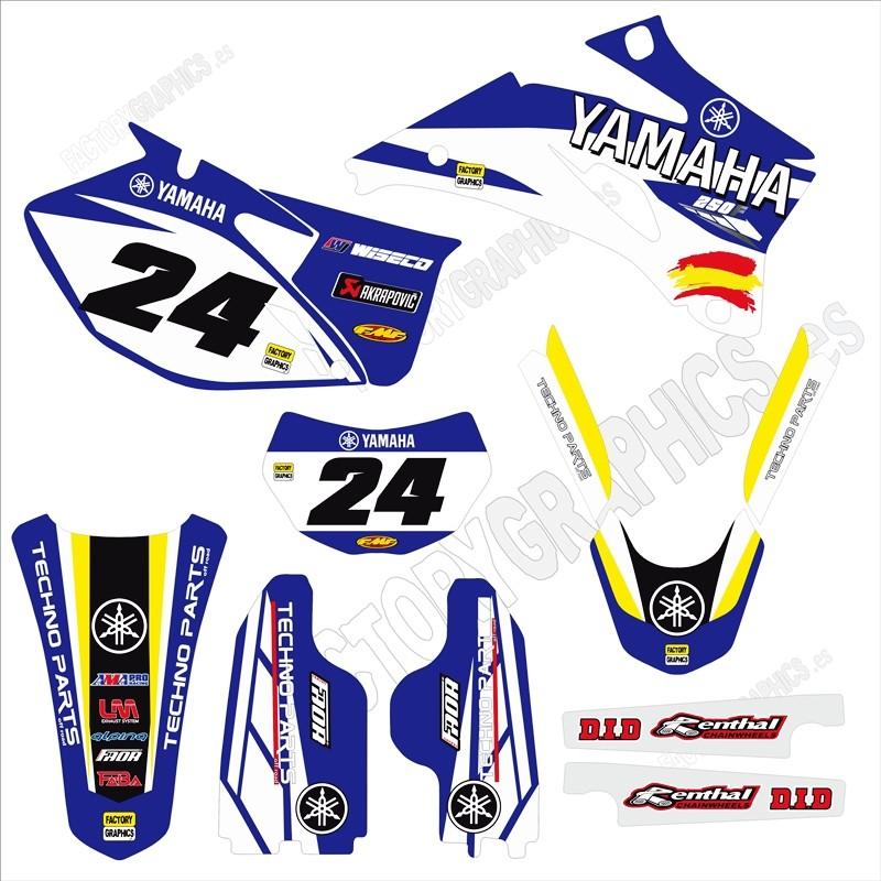 Yamaha Kit adhesivos