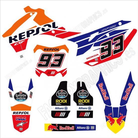 Kit adhesivos HONDA Repsol