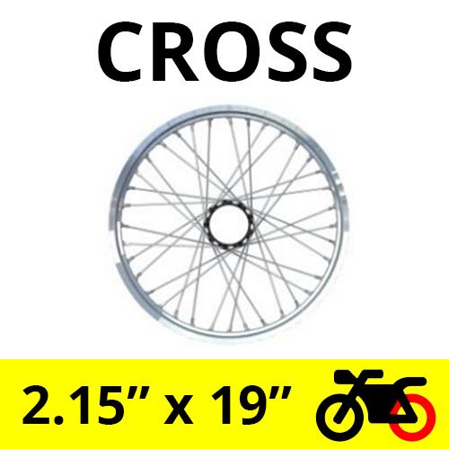 Llanta Delantera Cross UniHub