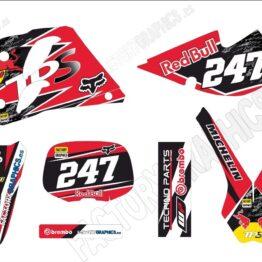 Kit adhesivos KTM Reb Bull 2