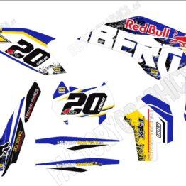 Kit adhesivos HUSABERG Red Bull Rockstar