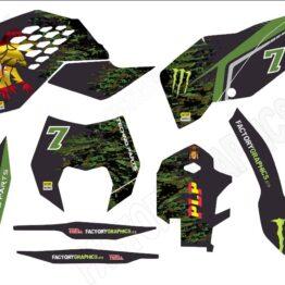 Kit adhesivos moto KTM 6