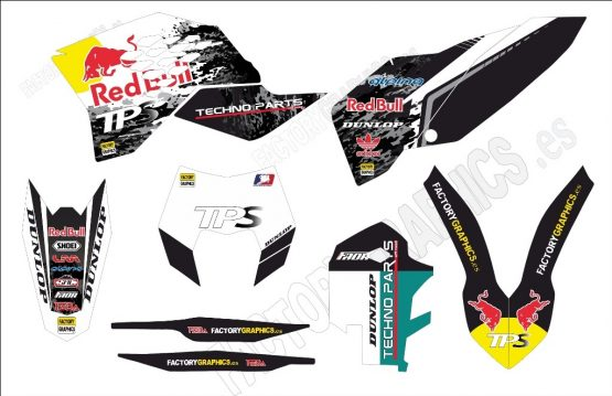 KTM Kit adhesivos Red Bull