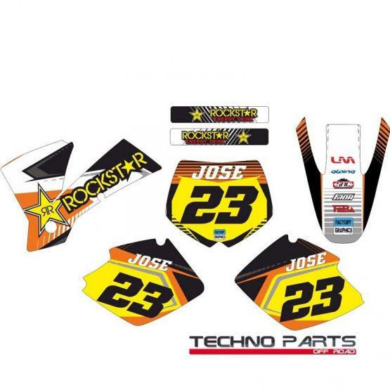 Kit adhesivos para KTM 1