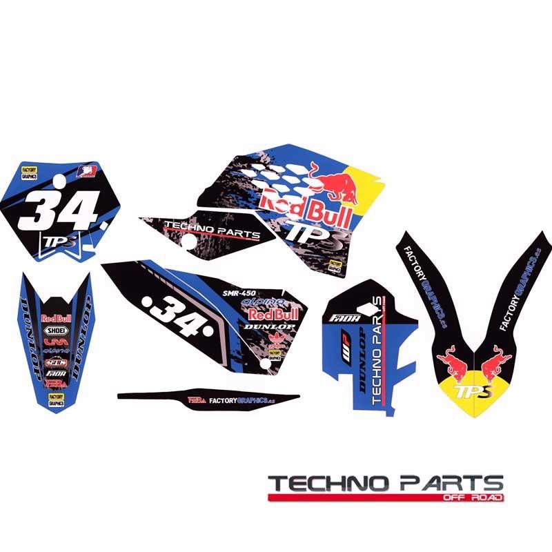 Kit adhesivos moto KTM 8