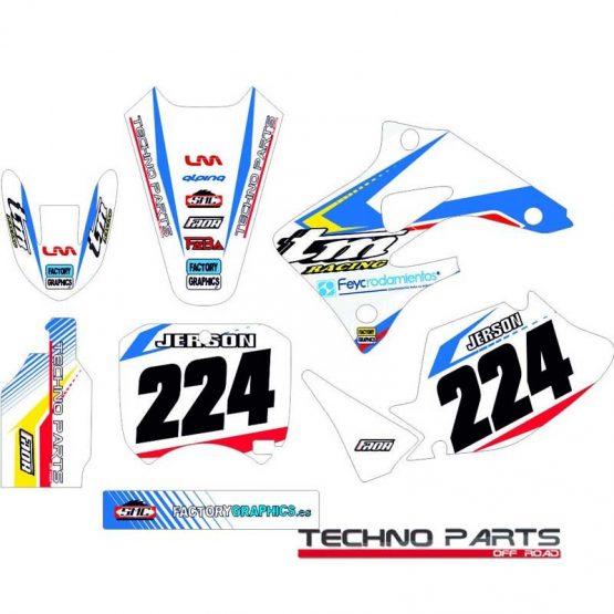Kit adhesivos moto TM 1