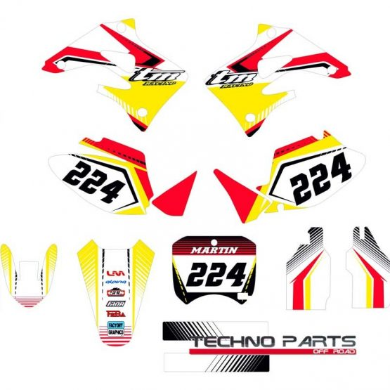 Kit adhesivos moto TM 2