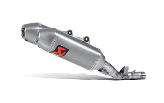 SILENCIADOR AKRAPOVIC SLIP-ON Honda CRF250R '16-17