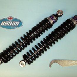 Amortiguador Enduro doble muelle Hagon Bultaco Frontera MK11 75-