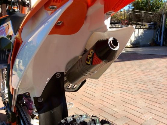 Lm Ktm 150cc 2t silenciador