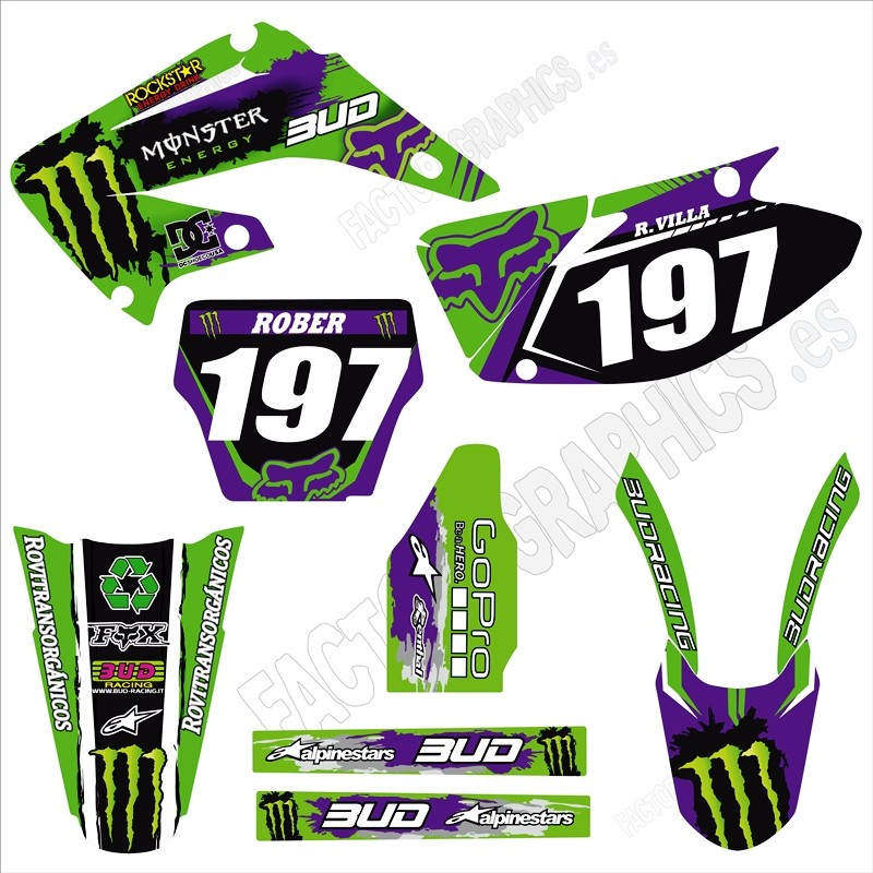Kit adhesivos HONDA Monster Fox