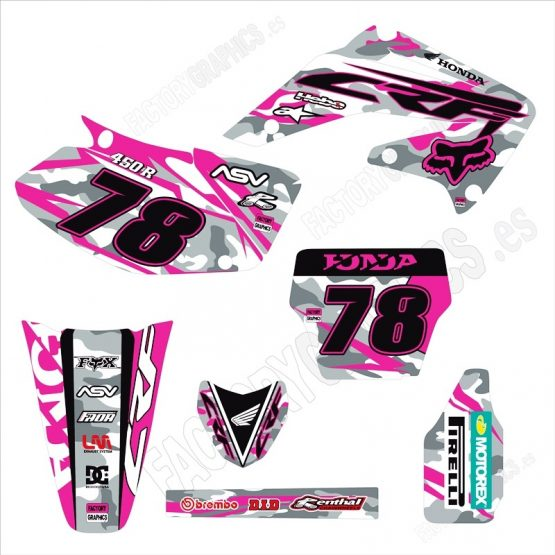 Kit adhesivos moto Honda 1