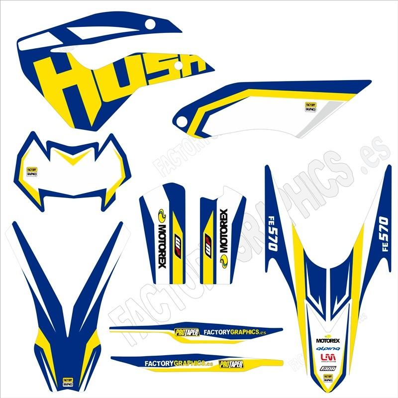 Kit adhesivos moto Husaberg