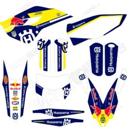 HUSQVARNA Kit adhesivos 173 Red Bull