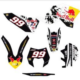 KTM Kit adhesivos 141 Red Bull